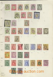 64764 - 1903-60 NIGERIA  choice mounted stamp. on 6 unbound sheets,