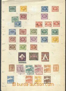 64766 - 1890-1980 SAN MARINO  sbírka na 14  volných listech A4 dopln