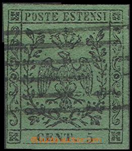 64787 - 1852 Mi.1/II. Orel s korunou, 1x mírně těsný střih, zby