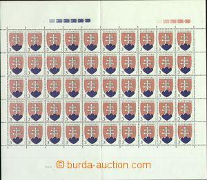 64789 - 1993 Zsf.2, Malý státní znak, 2ks kompletních 50ks TL (sudý