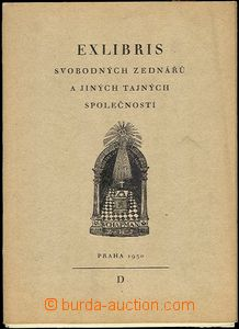 64833 - 1930 Exlibris Freemasons and other tajných community, Pragu