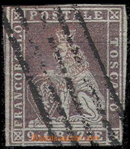 64839 - 1851 Mi.8 Lev, nepravidelný střih, nálepka, lehčí stopy
