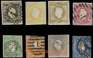 64893 - 1866 Mi.17-24 King Luis I., č.18-19 as ND (reprints *), hin