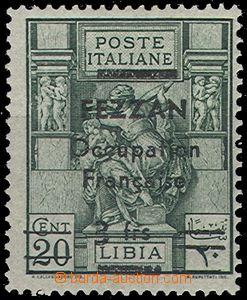 64945 - 1943 francouzská okupace, přetisk na italské známce, Mi.6, k