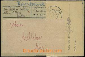 64960 - 1916 lístek pro válečné zajatce adresovaný do Ruska, do
