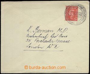 65027 - 1942 dopis zaslaný do Londýna, vyfr. zn. Mi.222, DR CSPP/