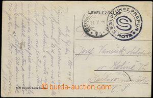 65030 - 1919 pohlednice odeslaná z dočasně obsazeného maďarské