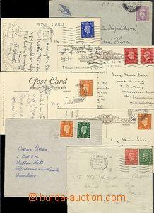 65034 - 1940-46 sestava 7ks dopisů a pohlednic, korespondence pří