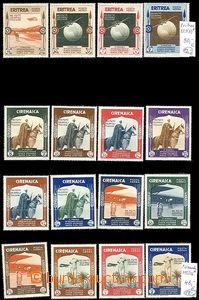 65049 - 1954 TRIPOLITANIA (Mi.223-34), SOMALIA ITALIANA (Mi.197-208)