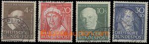 65143 - 1951 Mi.143-146, Pomocníci lidstva (II), dobře zachovalé,