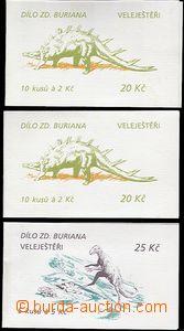 65172 - 1994 Pof.ZS20 2x, ZS22, kat. 600Kč