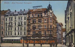 65204 - 1914 Brno - hotel Pilsnerhof, Jakubské náměstí (Rennergasse)