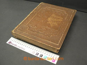 65254 -  album sheets Senf, whole world, to  year 1906, bounded as b
