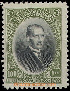 65269 - 1926 Mi.855 Mustafa Kemal, lightly hinged, c.v.. ca. 200€