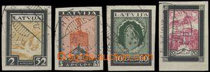 65289 - 1933 Mi.215-18 Podpůrný fond II., pěkné střihy, lehká