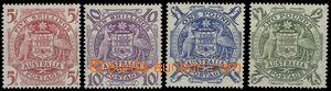 65291 - 1948 Mi.187-90 Znak, koncové hodnoty, svěží, kat. 200€