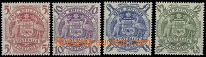 65291 - 1948 Mi.187-90 Coat of arms, highest value, mint never hinge