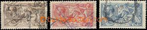 65307 - 1918 Mi.141-43III, c.v.. 180€, Mi.142 short teeth