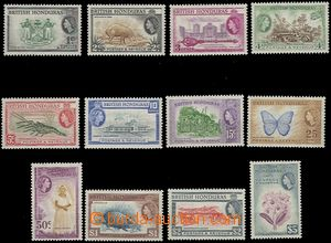 65319 - 1953 Mi.141-52, full set 12 pcs of, cheaper stamps hinged, o