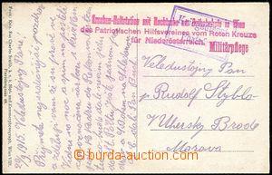 65327 - 1915 Kranken-Haltstation mit Nachtruhe am Ostbahnhofe in Wie
