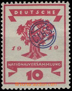65368 - 1920 OBERSCHLESIEN  vydání pro okupační území, přetis
