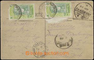 65386 - 1919-20 Legie v Rusku, pohlednice zaslaná z transportu rusk