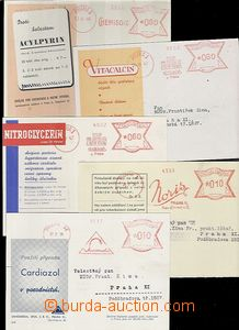 65388 - 1939-47 comp. 5 pcs of advertising postcards on/for léky wi