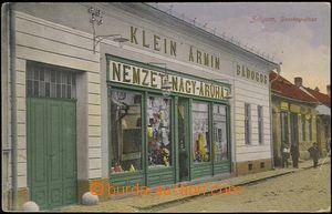 65415 - 1919 ZVOLEN (Zólyom) - obchod, ulice, prošlá čsl. PP č.38, z