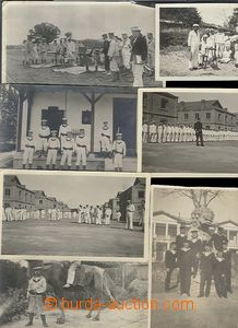 65460 - 1916 selection of 36 pcs of photos and 1 Us postcard, fotodo