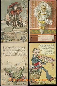 65507 - 1895-1915 MOTIVES/ ŠVÁBOVKY  selection of 41 pcs of Ppc pu