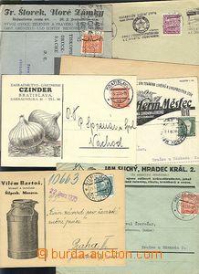 65525 - 1930-35 comp. 6 pcs of letters potravinářských firm with