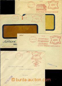 65527 - 1939-44 sestava 4ks dopisů s OVS, hezké otisky