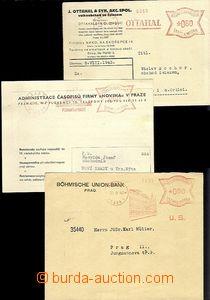 65583 - 1940-43 sestava 5ks celistvostí s OVS, obsahuje. např. Vý