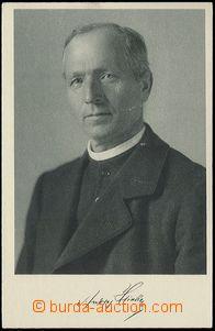 65589 - 1939 HLINKA Andrej, faksimile podpisu; prošlá, filatelisti