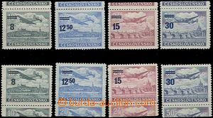 65840 - 1949 Pof.L29-32KH + L2932KD, complete, mint never hinged, c.