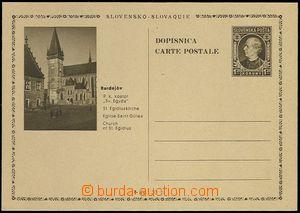 65897 - 1939 CDV4/16, Bardějov - kostel, u prodejní ceny číslice
