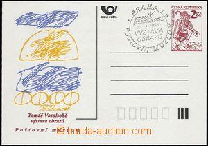 65900 - 1993 CDV2xa/PM1, T. Vosolsobě, s PR k této události, vzad