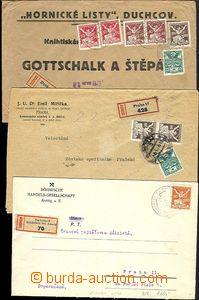 66012 - 1921-22 CZECHOSLOVAKIA 1918-39 / issue Chainbreaker  comp. 1