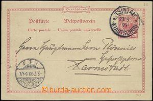 66117 - 1899 Mi.VP1 Deutsche Marine-Schiffspost (naval ship post), C