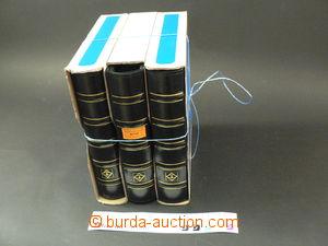 66139 -  3 pcs of stockbooks Leuchtturm (spiral in/at leatherette bi