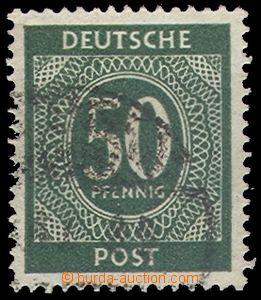 66163 - 1946 ALLIED OCCUPATION  Mi.932Y, 50Pf postage stmp, wmk. 6Y