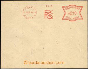 66232 - 1939 bianko obálka s OVS PRAG 1/ PRAHA 1/ FKCH (F.Křižík