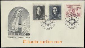 66292 - 1947 ministerská FDC 5. výročí vyhlazení Lidic, Pof.453