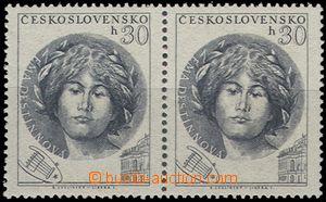66339 - 1953 Pof.757ST, E. Destinnová, horizontal pair with joined