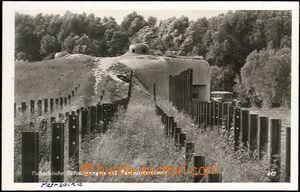 66449 - 1939 Petržalka u Bratislavy, bunkr a protitanková překá�