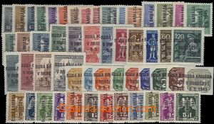 66474 - 1945 Mirošov, selection of 53 pcs of Bohemian and Moravian