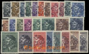 66476 - 1945 Praha-Holešovice, selection of 27 pcs of Bohemian and