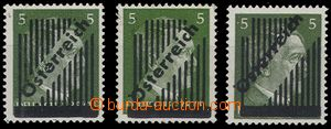 66549 - 1945 Mi.668/I x, y, from overprint, 14, 13 and 15 lines, 1x