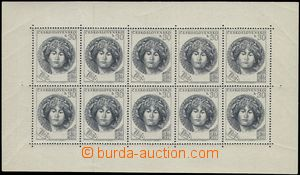 66551 - 1953 Pof.PL757, Destinnová, PB with stmp T III. on pos. 10,