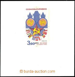66734 - 1973 ZT známky 3,60 Kčs z COB27, Zasedání RVHP v Praze,